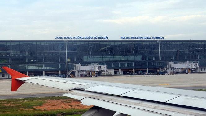 Sân bay Nội Bài - Ảnh: Hữu Khoa