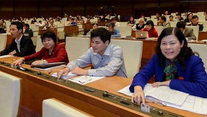 Trên 80% đại biểu Quốc hội khoá 13 đã nhấn nút đồng ý thông qua Bộ luật Hình sự 2015.
