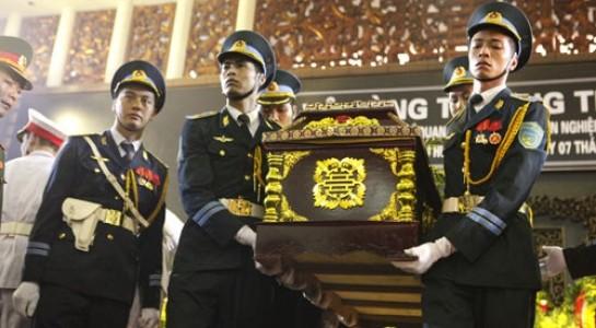 Sáng 30.6, lễ truy điệu các quân nhân đã hi sinh diễn ra tại Nhà tang lễ Bộ Quốc phòng. Ảnh minh họa, nguồn: Khám phá