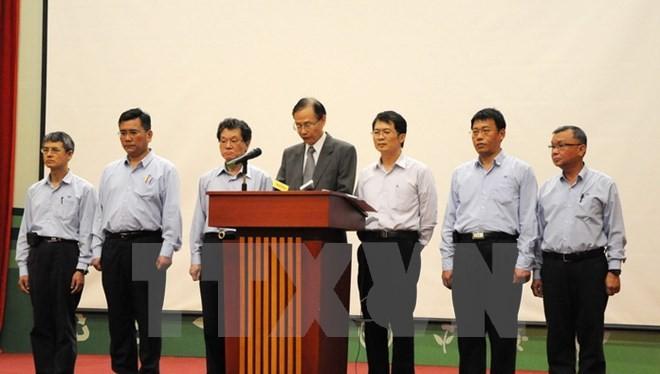 Công ty TNHH Gang thép Hưng Nghiệp Formosa Hà Tĩnh chính thức thừa nhận gây ra sự cố môi trường biển tại 4 tỉnh miền Trung. (Nguồn: TTXVN)