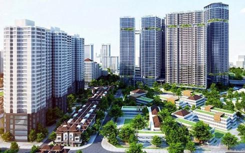 Vốn FDI vào bất động sản Việt Nam còn khiêm tốn so với tiềm năng thị trường (Ảnh minh họa: KT)