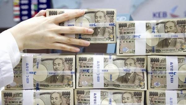 Hiện gần 40% nợ công của Việt Nam là vay bằng đồng yen, tương ứng 45 tỉ đô la Mỹ, bằng đô la Mỹ chiếm 25% và bằng euro 15%. Ảnh: Internet