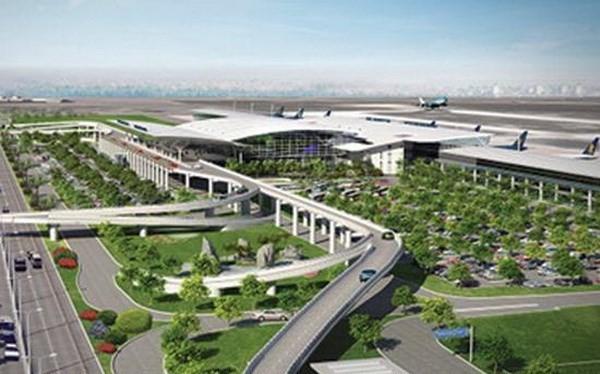 Phối cảnh dự án sân bay Long Thành. (Ảnh: TTXVN)