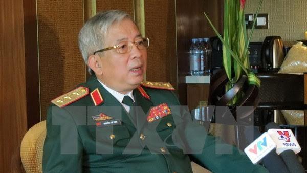 Thứ trưởng Bộ Quốc phòng Nguyễn Chí Vịnh. Ảnh: TTXVN