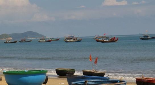 Một góc vùng biển Cảnh Dương.