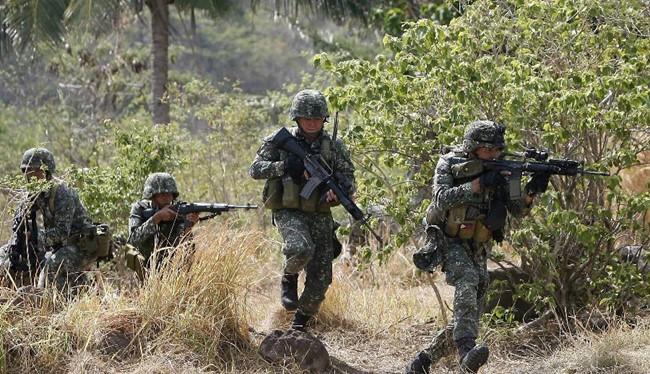 Quân đội Philippines trong cuộc tập trận chung với Mỹ