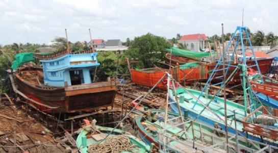 Những chiếc tàu đóng mới trị giá 4 - 5 tỷ đồng, nếu xâm phạm lãnh hải bị Thái Lan bắt giữ thì mất trắng