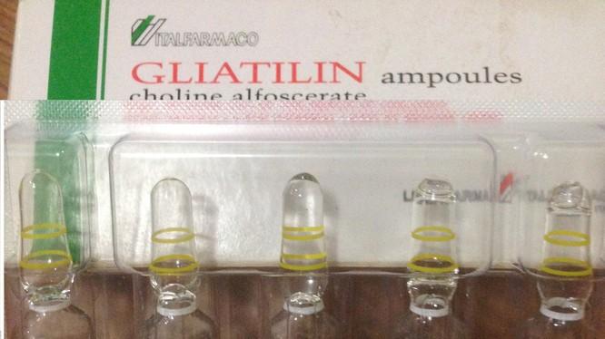 Gliatilin có giá trị nhập khẩu thấp hơn trên 7 lần Cerebrolysin
