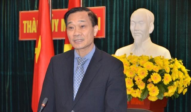 ông Vũ Hồng Thanh, Phó bí thư Tỉnh uỷ Quảng Ninh