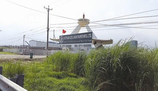 Dự án của Công ty TNHH Lee&Man tại huyện Châu Thành (Hậu Giang). Ảnh:TL