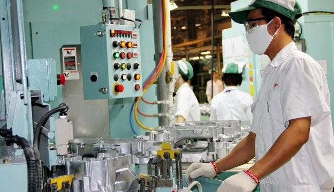 Sản xuất của một doanh nghiệp nước ngoài tại Việt Nam -Ảnh minh họa: Quốc Hùng