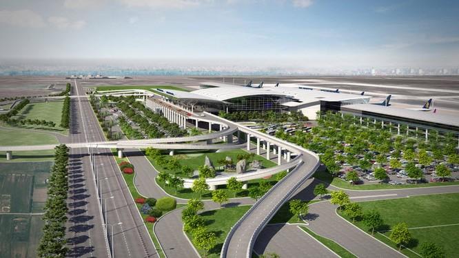 Phối cảnh quy hoạch dự án sân bay Long Thành