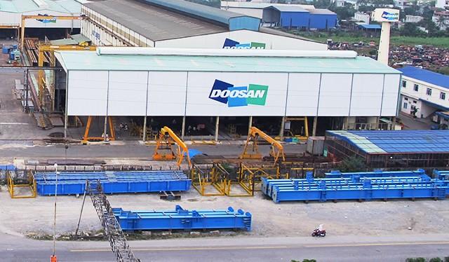 Nhà máy cơ khí Doosan Vina đặt tại Hải Phòng