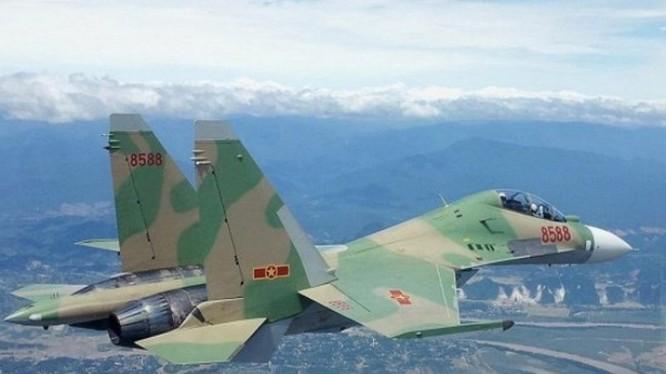 Tiêm kích Su30-MK2 Không quân nhân dân Việt Nam