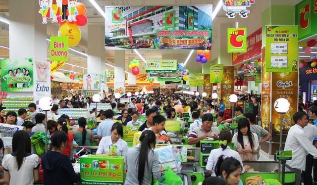 Big C Việt Nam đã bị thâu t óm bởi một doanh nghiệp Thái. Nguồn Internet