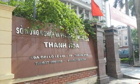 Sở NN&PTNT tỉnh Thanh Hóa
