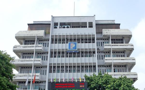 Trụ sở Tập đoàn Xăng dầu Việt Nam tại phố Khâm Thiên, Hà Nội
