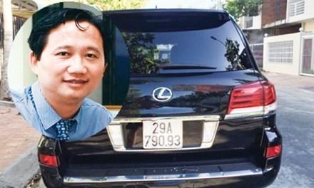Ông Trịnh Xuân Thanh và chiếc Lexus đầu mối vụ việc