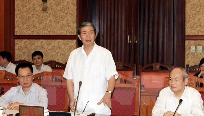 Thành lập Hội đồng lý luận Trung ương, ông Đinh Thế Huynh làm Chủ tịch Hội đồng