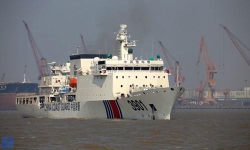 Tàu tuần duyên lớn nhất thế giới của Trung Quốc. Nguồn ảnh: Internet
