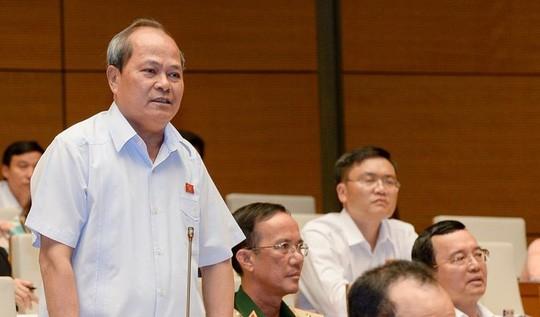 """ĐBQH Ngô Văn Minh: """"Không chỉ một mình ông Trịnh Xuân Thanh làm được những việc tày trời như vậy"""" - Ảnh: Nguyễn Nam"""