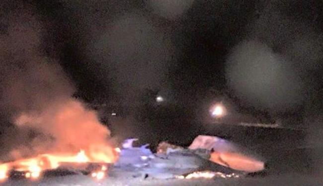 Hình minh họa (một chiếc F-15 của Israel từng bị bắn rơi).