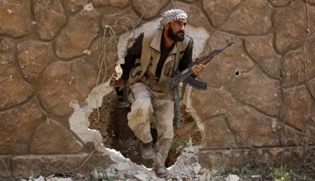 Chiến binh Hồi giáo cực đoan chiến đấu ở Đông Ghouta