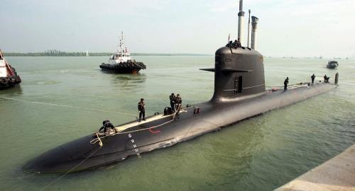 Hình ảnh tàu ngầm lớp Scorpene. Ảnh: Sputnik