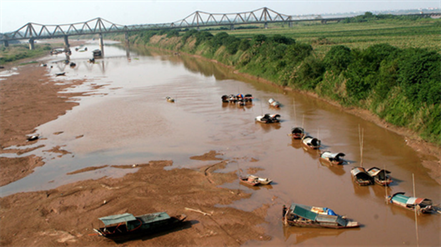 Sông Hồng đoạn qua Hà Nội