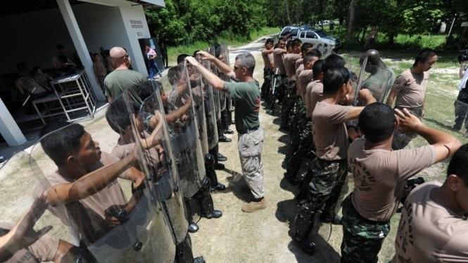 Lực lượng thủy quân lục chiến Mỹ huấn luyện nâng cao cho binh sĩ Thái Lan - Ảnh: US Marines