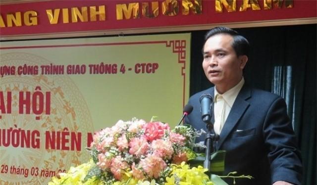Ông Lê Ngọc Hoa có mặt tại Đại hội cổ đông của Cienco4 ngày 29/3/2015 với tư cách lãnh đạo cũ và là một cổ đông