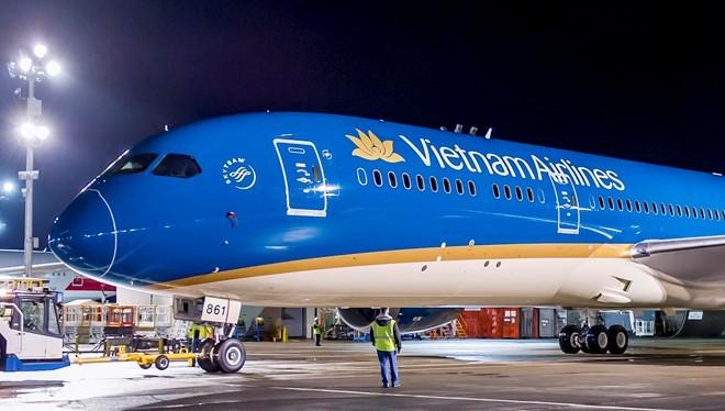 Máy bay Boeing 787 của Vietnam Airlines. Nguồn: internet
