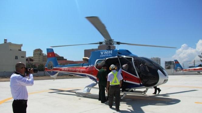 Trực thăng EC 130 - T2 của Việt Nam. Nguồn: Internet