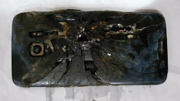 Chiếc Galaxy S7 edge đã phát nổ