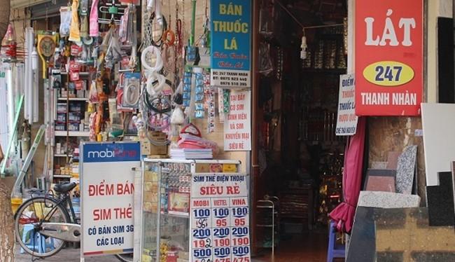 SIM rác có thể được mua tại các đại lý SIM thẻ, các cửa hàng tiện dụng hay thậm chí là quán nước lề đường