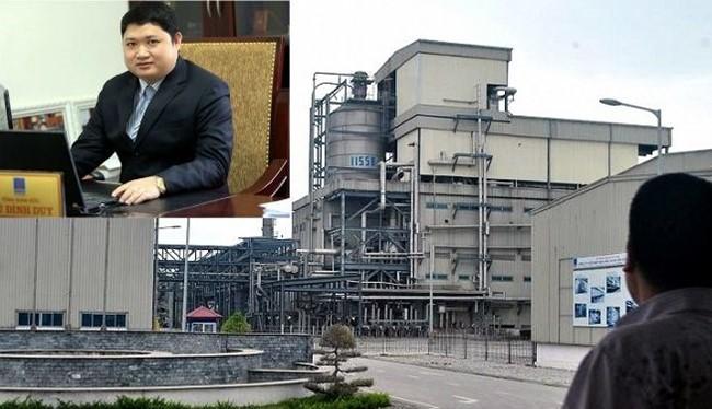 Ông Duy và nhà máy sản xuất xơ sợi polyeste Đình Vũ đang thua lỗ nặng nề.