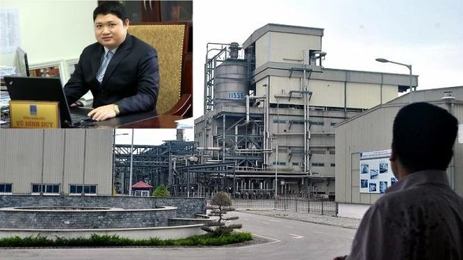 Ông Vũ Đình Duy và nhà máy đắp chiếu, thua lỗ nghìn tỷ đồng