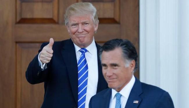 Ngày 19/11/2016, Tổng thống đắc cử Donald Trump gặp ông Willard Mitt Romney, ứng cử viên Tổng thống Mỹ Đảng Cộng hòa năm 2012.