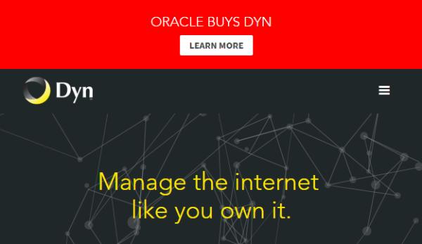 Oracle chính thức sở hữu Dyn