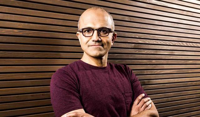 CEO Satya Nadella.