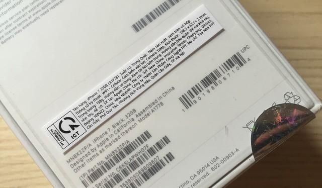 iPhone do FPT Trading phân phối có mã ZP/A