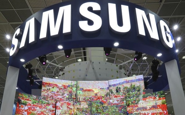 Gian hàng của Samsung tại Triển lãm điện tử Hàn Quốc ở Seoul. (Nguồn: AP/TTXVN)
