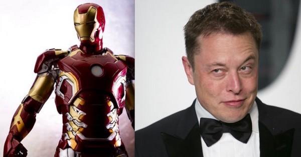 """Elon Musk được xem là """"Iron Man"""" của đời thực khi ông được sử dụng làm hình tượng cho nhân vật này trong bộ phim cùng tên"""