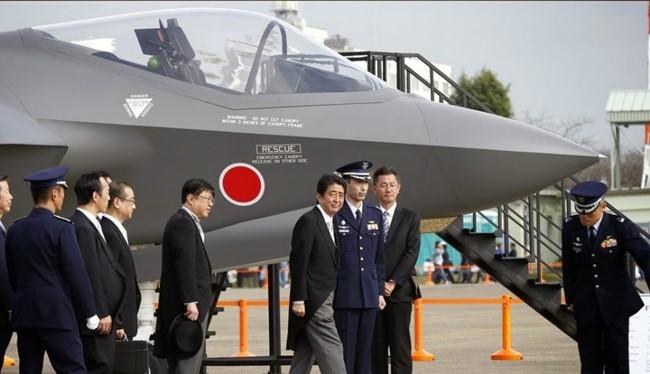 Nhật Bản sẽ là nước đầu tiên ở châu Á sắm máy bay F-35 của Mỹ.