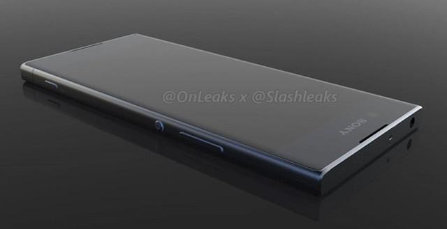 Hình ảnh được cho là của mẫu Xperia XA thế hệ mới. Ảnh: @OnLeaks.