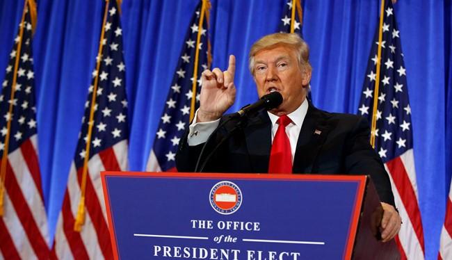 Tổng thống Mỹ mới đắc cử Donald Trump