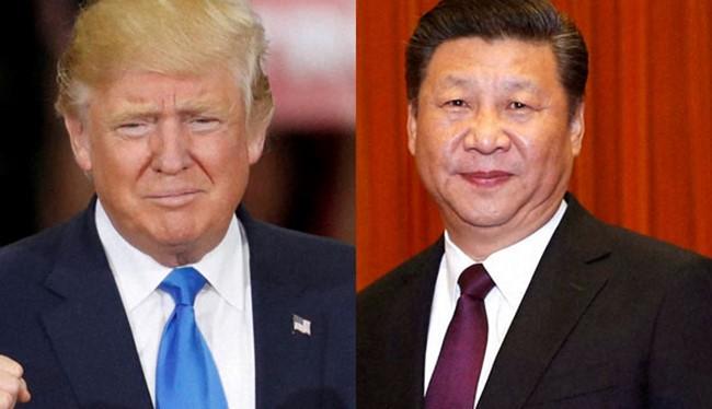 Tổng thống Mỹ mới đắc cử và Chủ tịch Trung Quốc (ảnh minh họa)