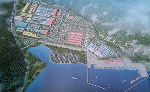 Phố cảnh cảng Cà nà mà Tập đoàn Hoa Sen muốn được đầu tư