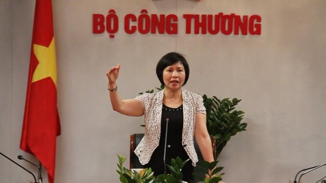 Thứ trưởng Hồ Thị Kim Thoa