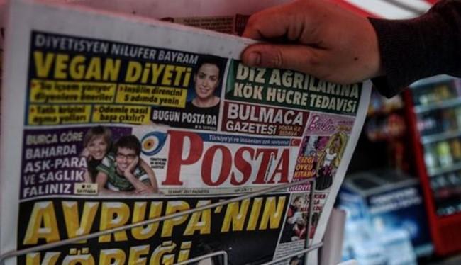 """Một tờ báo Thổ Nhĩ Kỳ đã gọi người Hà Lan là """"chó"""" của châu Âu. Ảnh BBC"""